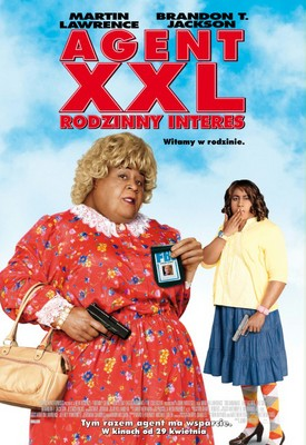 Agent XXL: Rodzinny Interes / Big Mommas: Like Father, Like Son
