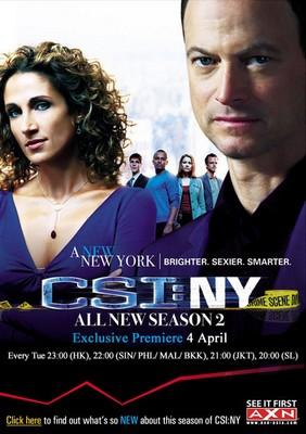 CSI: Kryminalne zagadki Nowego Jorku - sezon 2 / CSI: NY - season 2