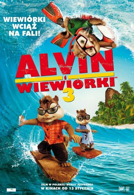 Alvin i Wiewiórki 3 / Alvin and the Chipmunks: Chipwrecked