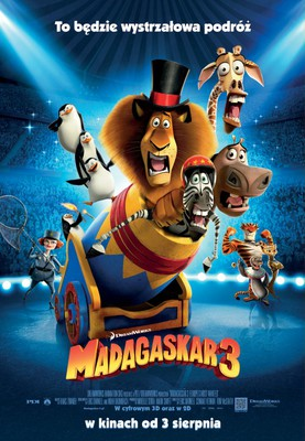 Madagaskar 3 / Madagascar 3: Europe's Most Wanted