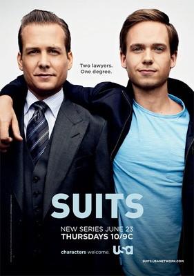 W garniturach - sezon 1 / Suits - season 1
