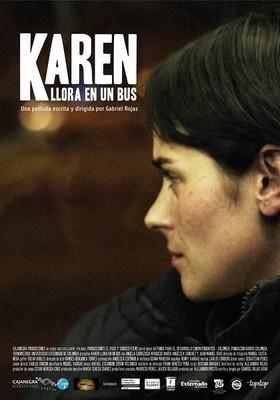 Karen płacze w autobusie / Karen llora en un bus