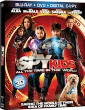 Mali agenci: wyścig z czasem w 4D / Spy Kids 4: All The Time In The World