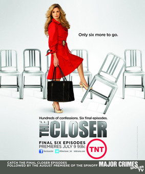 Podkomisarz Brenda Johnson - sezon 7.5 / The Closer - season 7.5