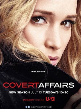 Kamuflaż - sezon 4 / Covert Affairs - season 4