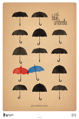 Niebieski parasol / The Blue Umbrella