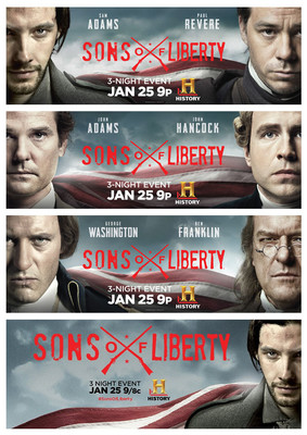 Sons of Liberty - miniserial / Sons of Liberty - mini-series