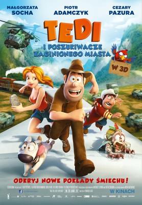 Tedi i poszukiwacze zaginionego miasta / Las Aventuras de Tadeo Jones