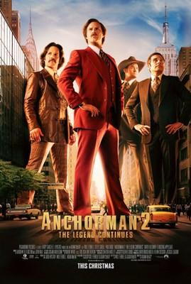 Legenda telewizji 2: Kontynuacja / Anchorman 2: The Legend Continues