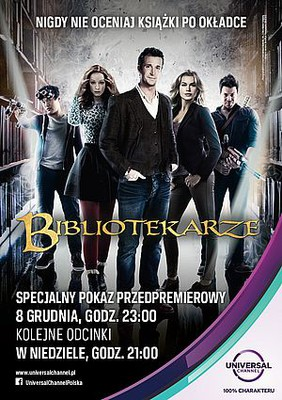 Bibliotekarze - sezon 1 / The Librarians - season 1