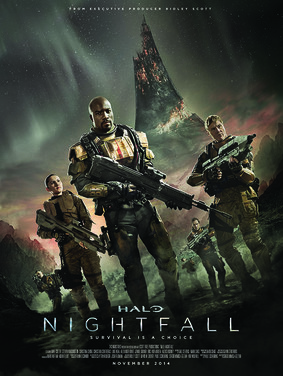 Halo Nightfall - miniserial / Halo Nightfall - mini-series