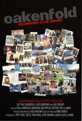 Paul Oakenfold - Documentary & Live Concert [DVD]