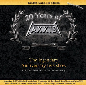 Axxis - 20 Years Of Axxis [Live]