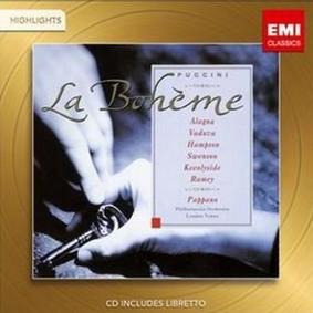 Roberto Alagna, Thomas Hampson, Leontyne Vaduva - La Boheme (Highlights)