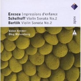 Gidon Kremer, Oleg Maisenberg - Enescu: Sonatas For Violin & Piano