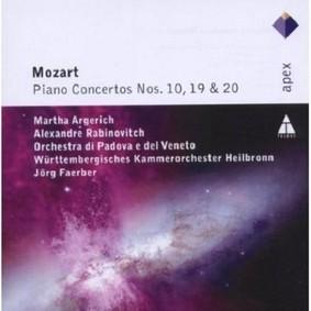 Martha Argerich, Alexandre Rabinovitch - Mozart: Piano Concertos Nos.10, 19 & 20