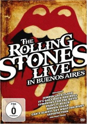 The Rolling Stones - Live In Buenos Aires [DVD]