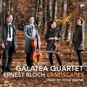Galatea Quartet - Landscapes Works for String Quartet