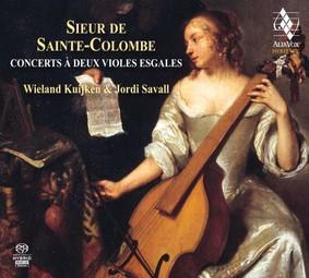 Wieland Kuijken, Jordi Savall - Sieur De Colombe Concerts à deux violes esgales