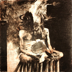 Wrathprayer - The Sun Of Moloch: The Sublimation Of Sulphur's Essence Which Spawns Death And Life