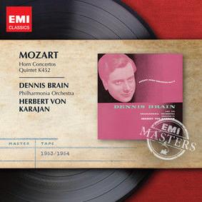 Dennis Brain, Philharmonia Orchestra - Horn Concertos Nos 1-4; Quintet K452