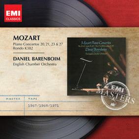 Daniel Barenboim, English Chamber Orchestra - Piano Concertos 20, 21, 23 & 27 - Rondo K.382