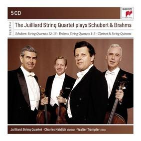 Juilliard String Quartet - Juilliard String Quartet plays Schubert & Brahms