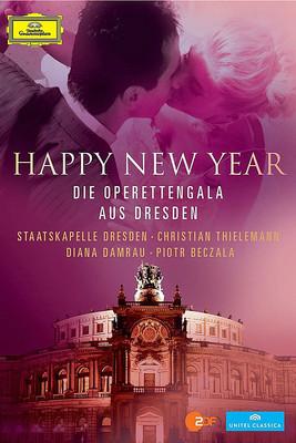 Staatskapelle Dresden - Happy New Year - Die Operettengala aus Dresden [DVD]