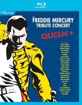 Various Artists - Queen + The Freddie Mercury Tribute Concert [Blu-ray]