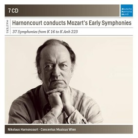 Nikolaus Harnoncourt - Harnoncourt Conducts Mozart Early Symphonies