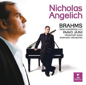 Nicholas Angelich, Frankfurt Radio Symphony Orchestra, Paavo Järvi - Brahms: Piano Concertos 1 & 2