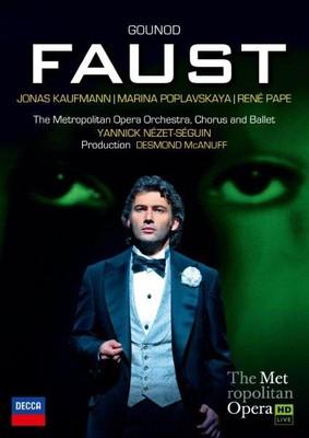 Jonas Kaufmann - Gounoud: Faust [DVD]