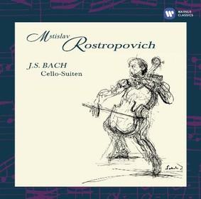 Mstislav Rostropovich - Bach: Cello Suites