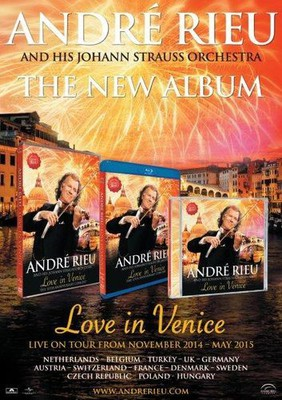 Andre Rieu - Love In Venice [Blu-ray]