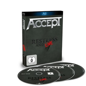 Accept - Restless And Live [Blu-ray]