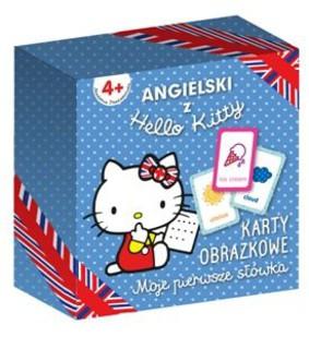 Karty obrazkowe. Angielski z Hello Kitty. Moje pierwsze słówka