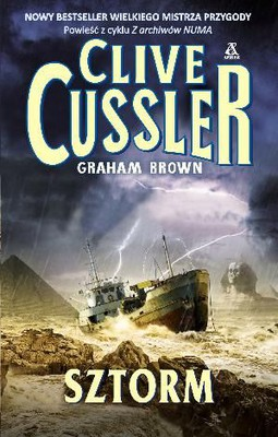 Clive Cussler, Graham Brown - Sztorm / Clive Cussler, Graham Brown - Storm