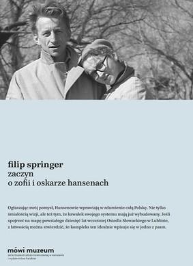 Filip Springer - Zaczyn o Zofii i Oskarze Hansenach