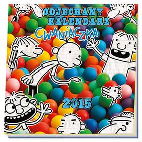 Jeff Kinney - Odjechany kalendarz cwaniaczka 2015