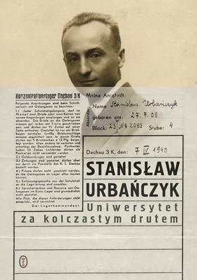 Stanisław Urbańczyk - Uniwersytet za kolczastym drutem