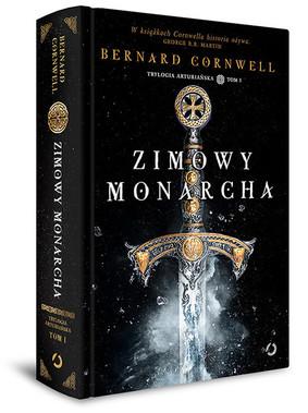 okładka, zimowy monarcha, bernard cornwell