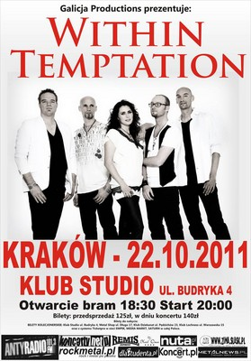 Within Temptation - koncert w Krakowie