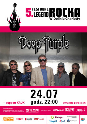 5. Festiwal Legend Rocka - Deep Purple