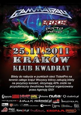 Gamma Ray - koncert w Krakowie