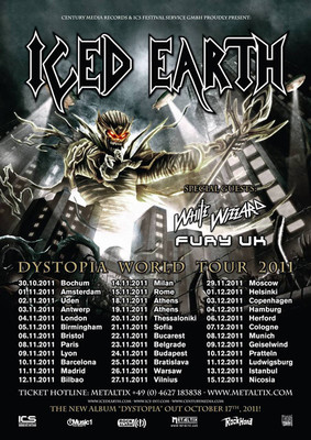 Icen Earth - World Dystopia Tour