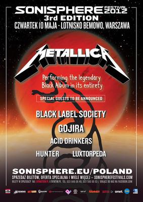 Sonisphere Festival 2012
