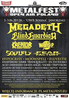 Metalfest Open Air Poland 2012