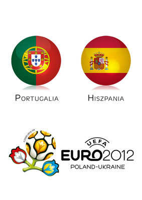 Euro 2012: Portugalia - Hiszpania [Półfinał]