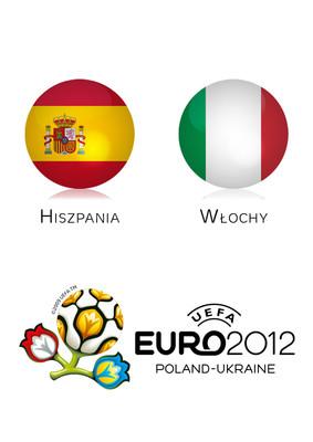 Euro 2012: Hiszpania - Włochy [Finał]