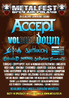 Metalfest Open Air Poland 2013